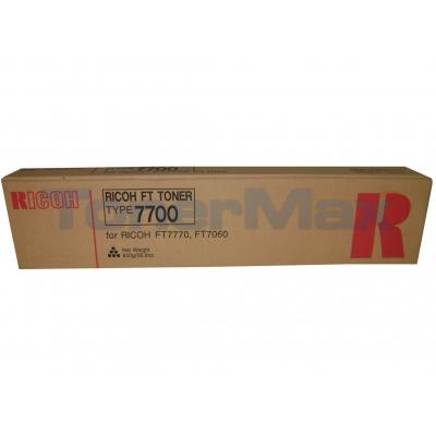 RICOH 7060 7770 TYPE 7700 TONER BLACK